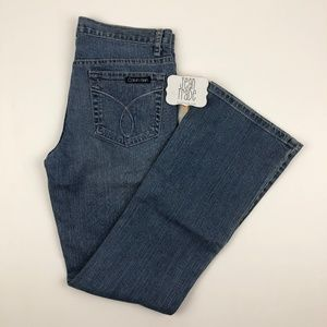 NWT Calvin Klein Flare Fit Jeans
